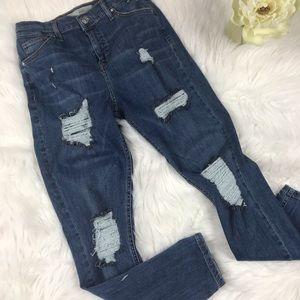 Top Shop Moto Jamie Jeans